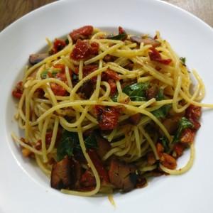 Smoked Tuna & Sundried Tomato Spaghetti