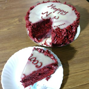 Redvelvet Cake with Redvelvet Creamcheese Buttercream