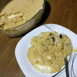 Roasted Milk Powder Creamy  Trifle