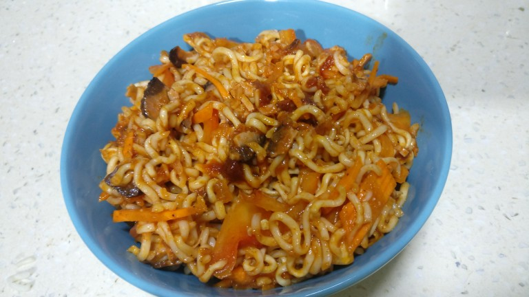 Lonumirus Sauce Noodles (Spicy Noodles)